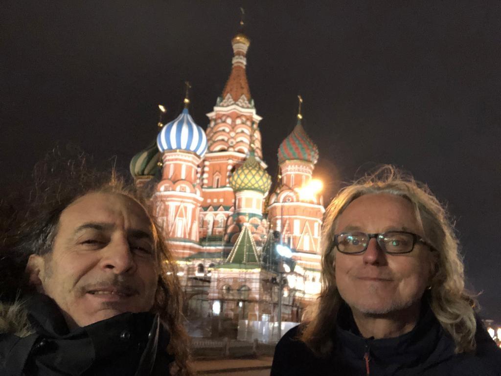 La nostra Napoli arriva in Russia, ed è tutto bellissimo