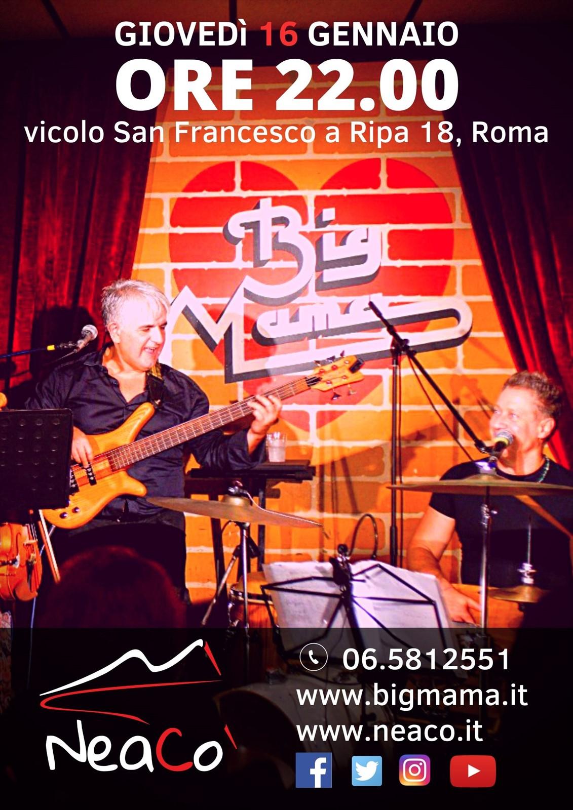 NeaCo' live al Big Mama di Roma
