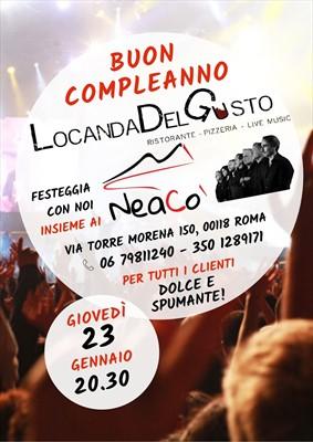 NeaCo' live alla Locanda Del Gusto