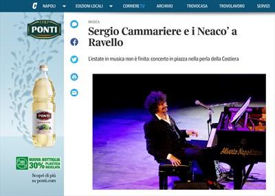 NEACO - STAMPA - Sergio Cammariere e i Neaco' a Ravello